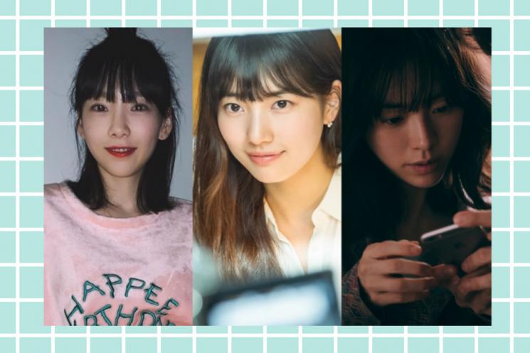 태연, 수지, 한지민. 사진=태연 인스타그램, tvN, 워너브러더스코리아(주)