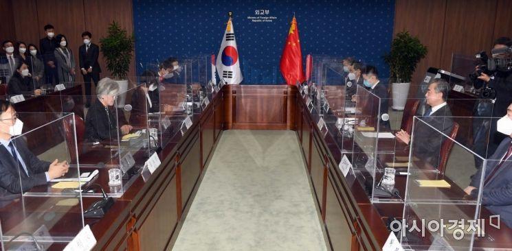 [포토]한중 외교장관 회담