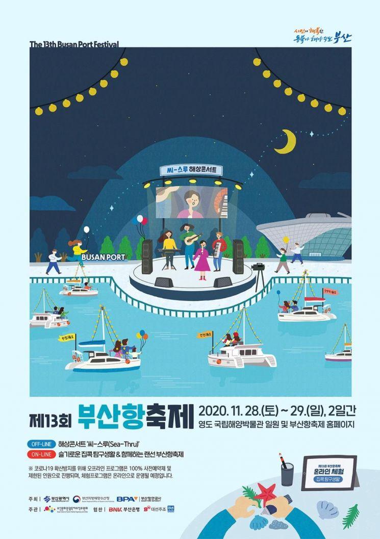 온라인 해양관광축제 닻 오른다 … 비대면 '부산항축제' 개최