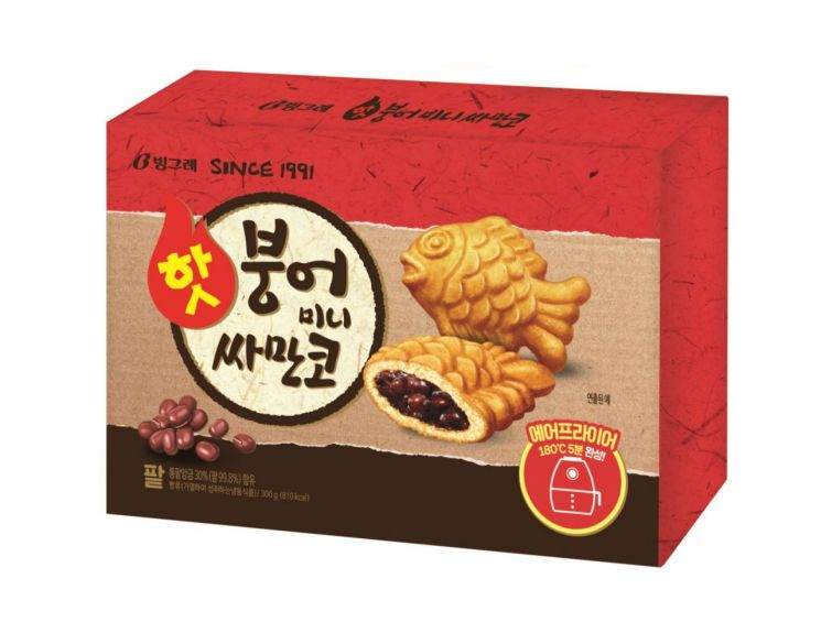 빙그레, '핫붕어 미니싸만코' 2종 출시