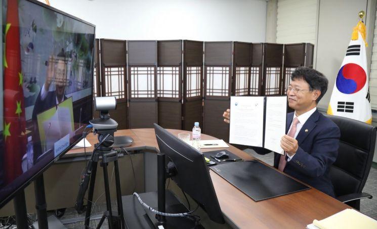 [포토] 한-중 특허청장 회담, 양국 특허현안 논의