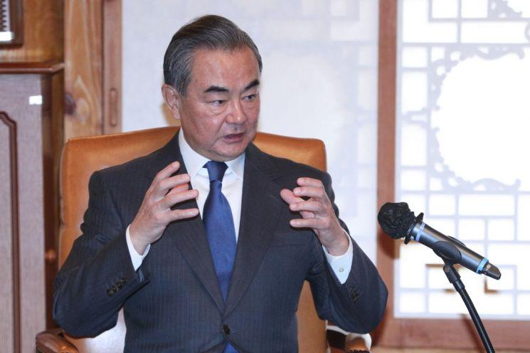 왕이 중국 외교부장 [이미지출처=연합뉴스]