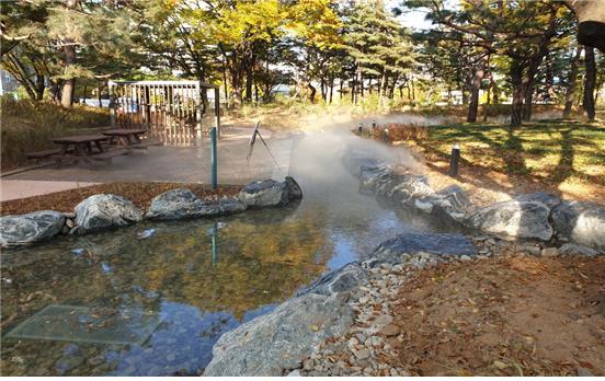 양천공원 실개천
