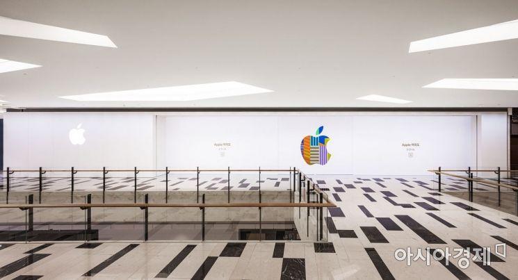 국내 2번째 애플스토어가 IFC몰에 들어선다.(사진제공=애플)