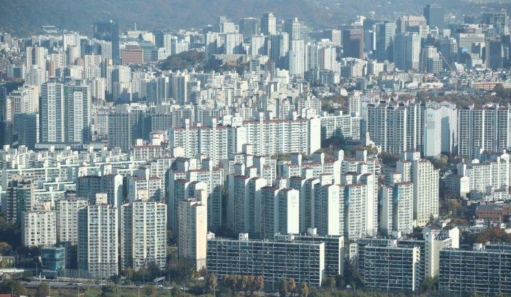 서울 아파트 전경 [이미지출처=연합뉴스]