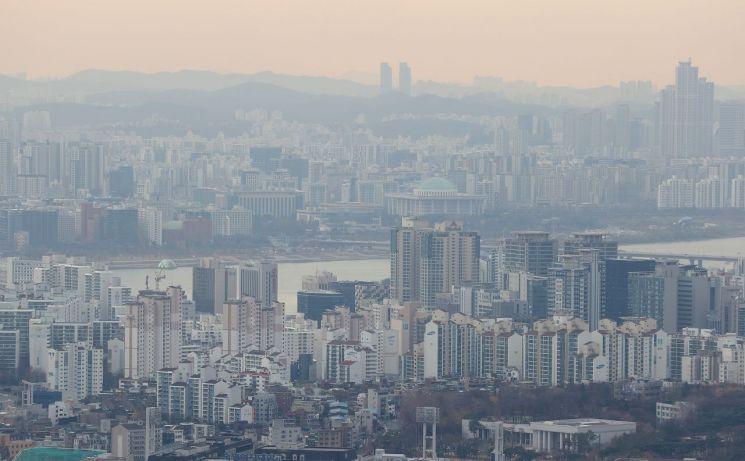 서울 시내 아파트 전경 [이미지출처=연합뉴스]