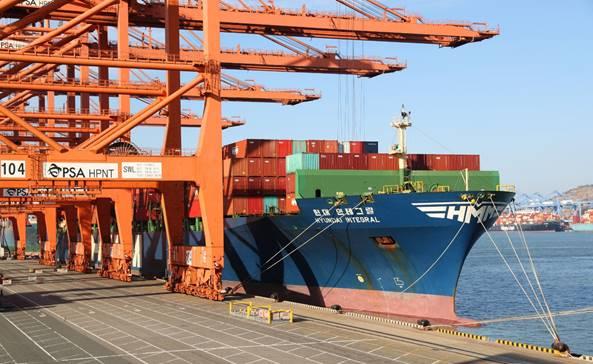 선박부족 대란에…HMM, 대미 수출지원 5번째 임시선 투입