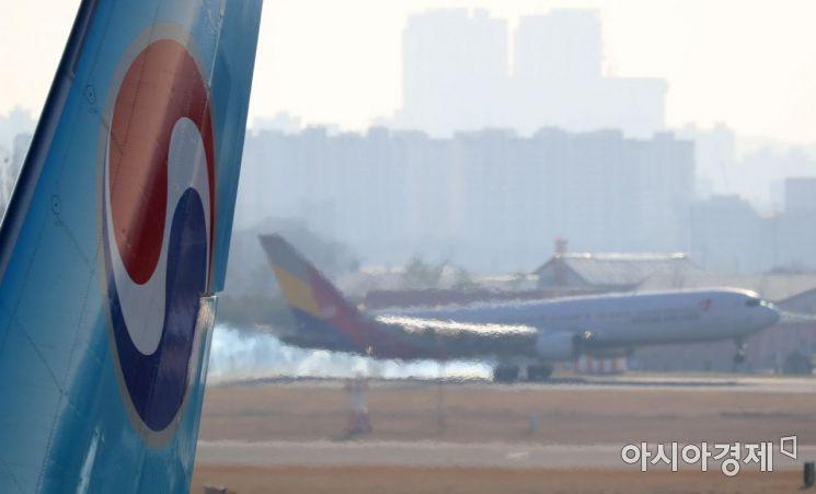 [포토] 대한항공·아시아나항공 통합의 향방은?