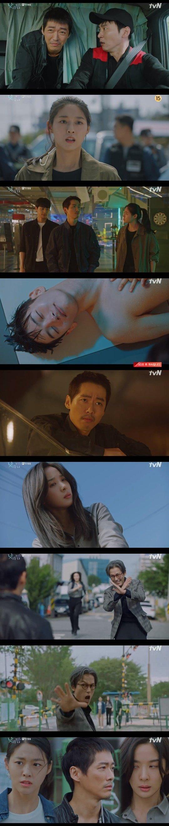 사진= tvN 새 월화드라마 '낮과 밤' 방송화면 캡처.