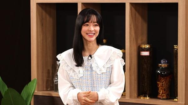 배우 홍수아. 사진= SBS플러스 '강호동의 밥심' 방송화면 캡처.