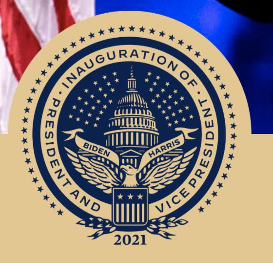 바이든 미 대통령 당선인 취임식 로고