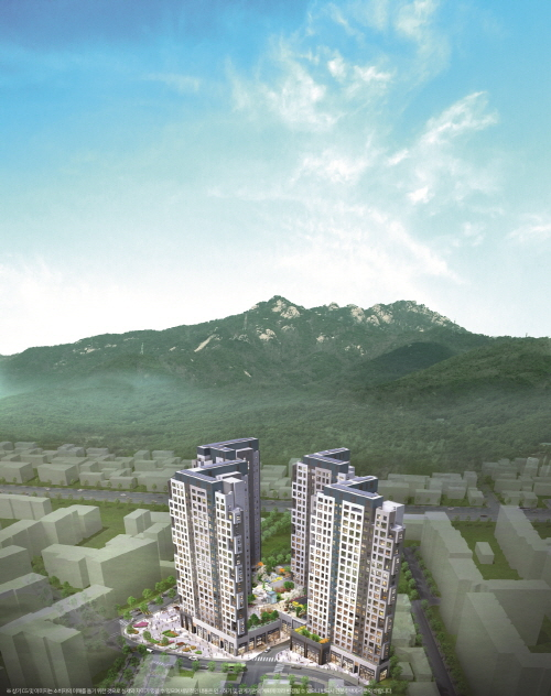 중소형 아파트 공급 감소에 두각 보이는 '힐스테이트 도봉역 웰가'