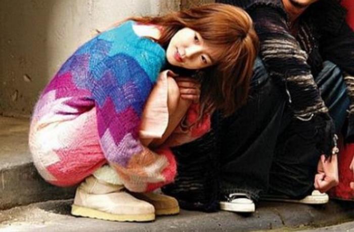 임수정의 무지개니트+어그부츠. 사진=KBS 2TV '미안하다 사랑한다'
