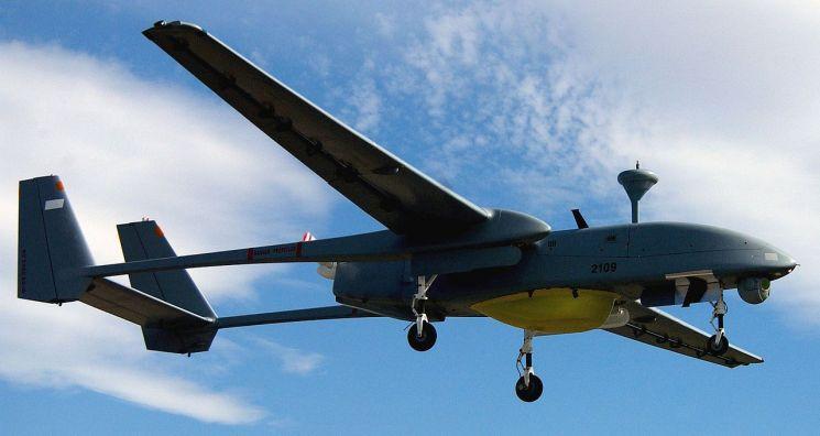 이스라엘 방선업체 IAI사의 무인 드론인 헤론의 모습[이미지출처=이스라엘 IAI사 홈페이지]