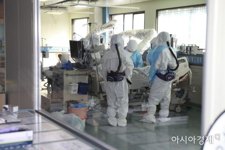 코로나 확진 임산부, 경북대병원서 출산…아이는 '음성'