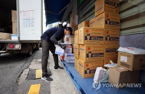 택배 노동자. 사진은 기사 내용 중 특정 표현과 관련없음./사진=연합뉴스
