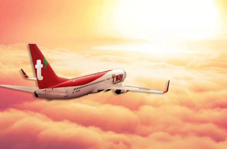 사진=티웨이 항공 홈페이지