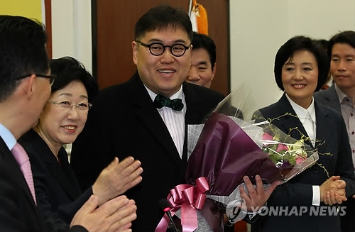 팟캐스트 '나는 꼼수다' 출신 김용민 씨. / 사진=연합뉴스