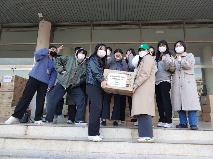청암대학교, 48대 총학생회 코로나19 예방을 위한 재학생 전원 마스크 지급