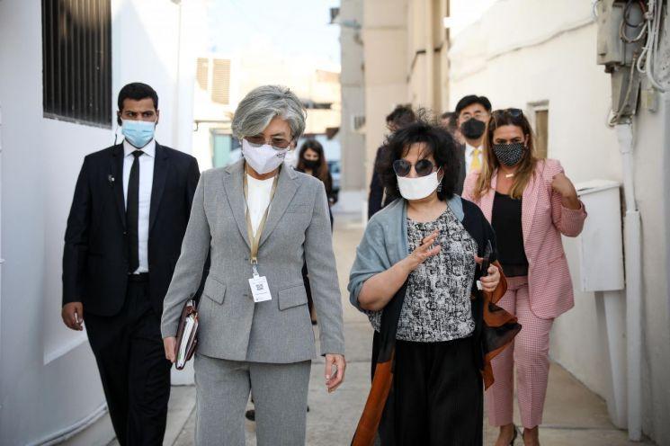 강경화 장관, ICRC 총재와 면담…北 인도적 지원 상황 논의