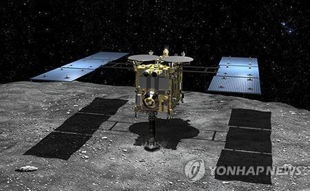 소행성 탐사선 '하야부사2'[이미지출처 = 연합뉴스]