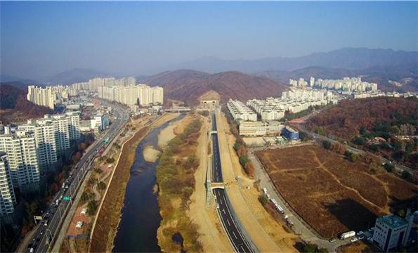 진접-내촌 국도건설공사(공사시점~부평1터널) 전경 (사진=국토교통부)