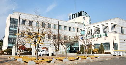 경북농기원 전경.