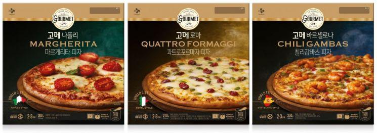 '냉동 피자의 반란' CJ '고메 피자' 출시 두 달 만에 100만개 판매