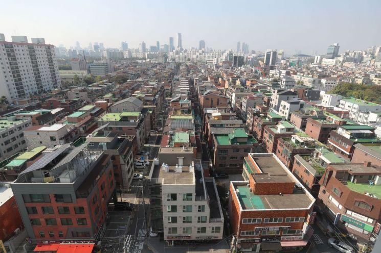 서울 송파구 빌라와 다세대 주택 밀집 지역 <사진=연합뉴스>