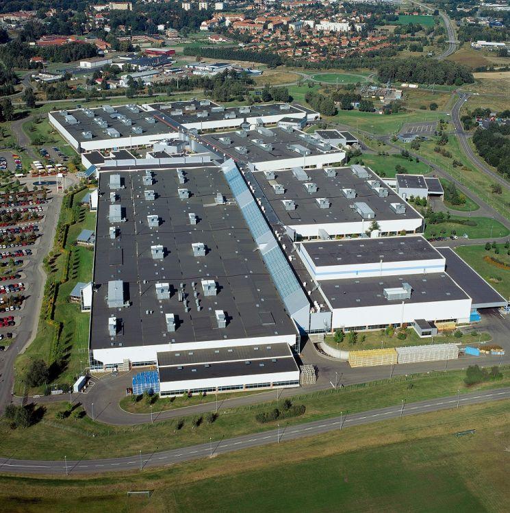 볼보자동차 스웨덴 셰브데 공장, 전기 모터 양산 시작