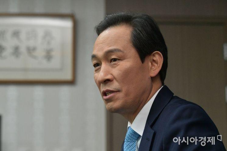우상호 더불어민주당 의원./윤동주 기자 doso7@