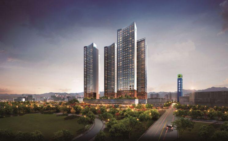 대전 도안신도시 '유성온천역 한라비발디' 공급