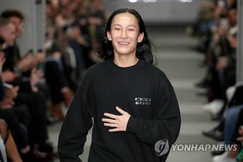 세계적인 패션 디자이너 알렉산더 왕 [이미지출처=연합뉴스]