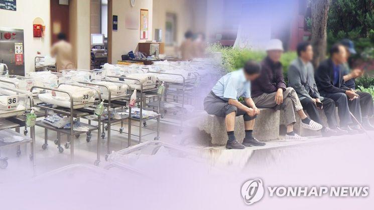 한국경제연구원은 2060년에는 생산가능인구 1명당 부양해야 하는 노인수가 0.98명으로 늘어나, 미래세대 부담이 더욱 증가할 것으로 전망했다./사진=연합뉴스