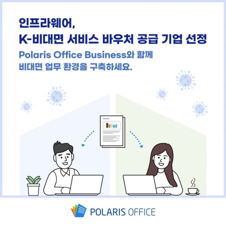 인프라웨어, K-비대면 서비스 바우처 공급기업에 선정.