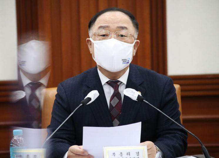홍남기 경제부총리 겸 기획재정부 장관. [이미지출처=연합뉴스]