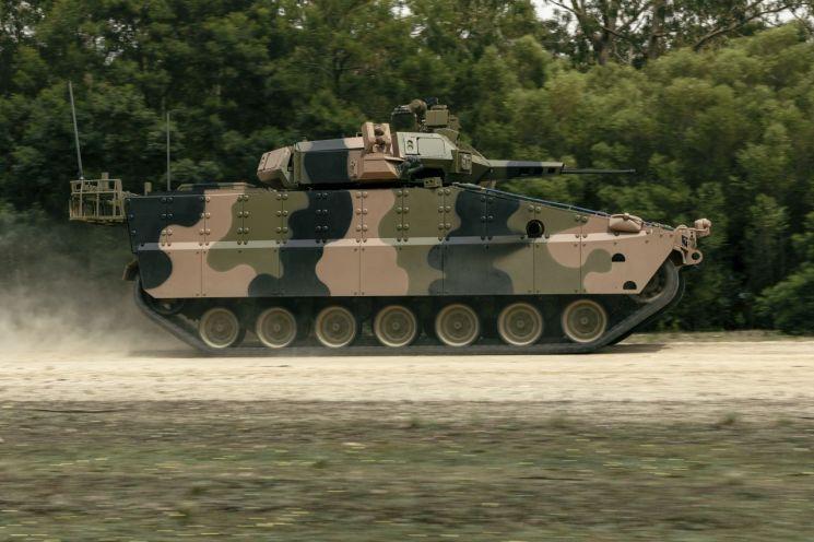 [양낙규의 Defence photo]호주 첫 등판한 레드백 장갑차