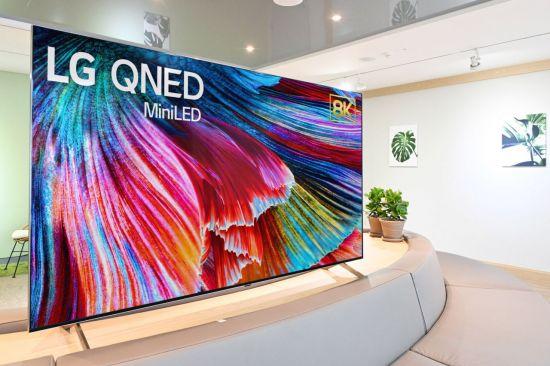 LG전자 미니 LED TV 'QNED'