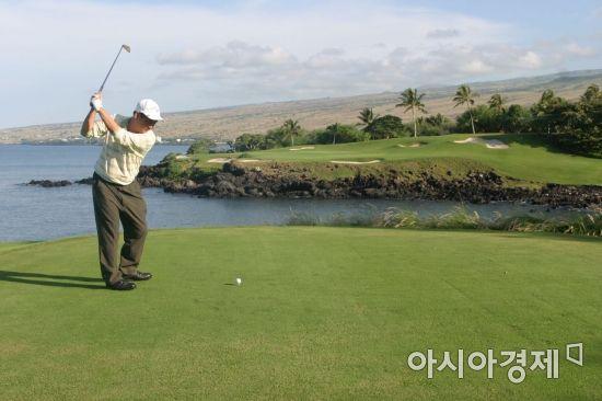 '확률 골프'는 스코어 메이킹의 지름길이다.