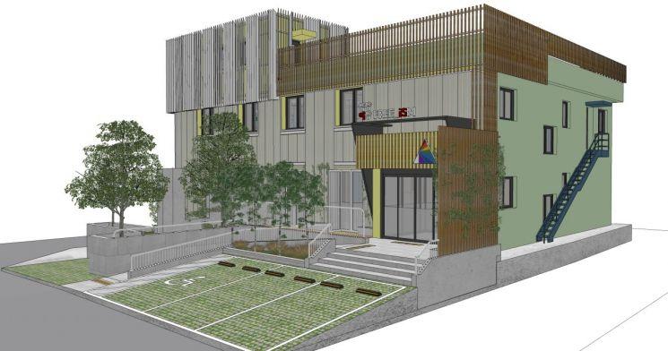 영등포구 옛 양평2동 주민센터 리모델링 '창의예술교육센터' 착공