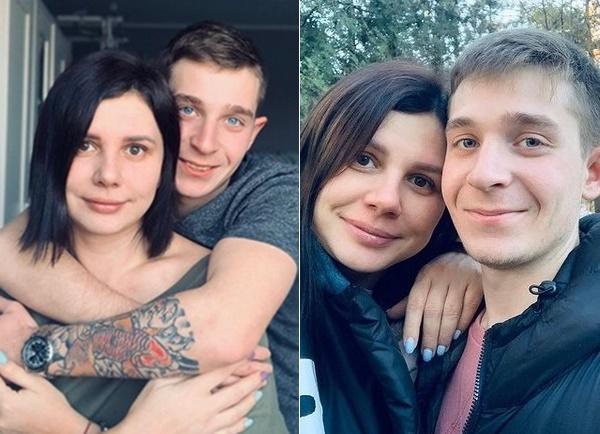 자신의 입양 아들과 결혼하고 임신까지 한 마리나 발마셰바(왼쪽)과 의붓아들  블라디미르 샤비린(오른쪽). 사진출처 =  블라디미르 샤비린 SNS 캡처