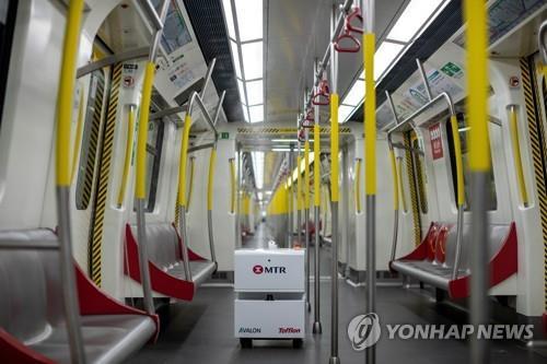 홍콩 MTR 객차 [이미지출처 = 연합뉴스]