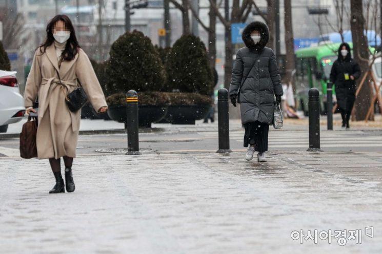 [포토] 서울 '눈' 시작