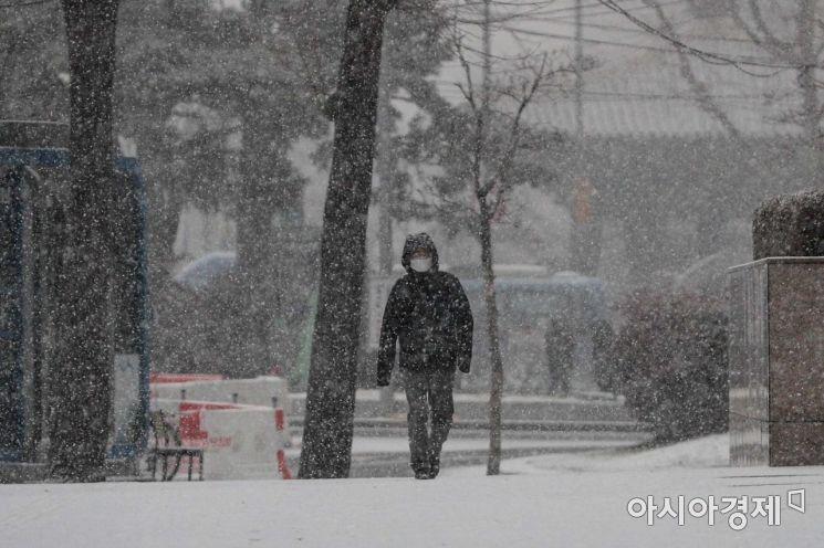 [포토]서울 눈 시작