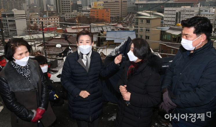 [포토] 도시재생사업 현장 찾은 나경원