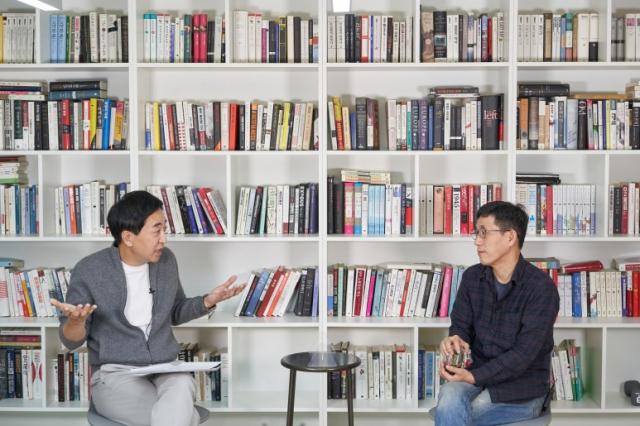 금태섭 전 더불어민주당 의원(왼쪽)과 진중권 전 동양대 교수 / 사진=금태섭 블로그