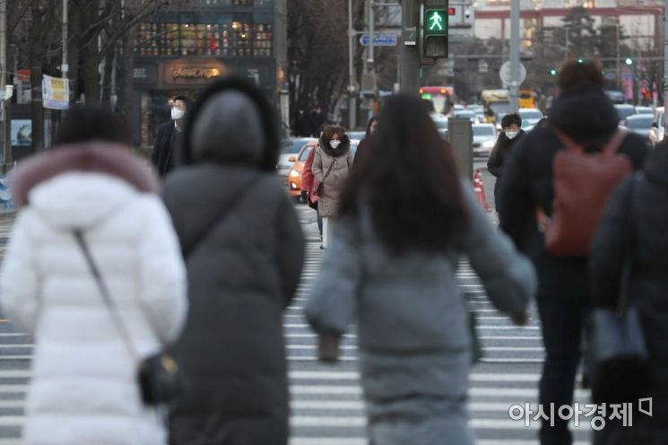 [포토]출근길 반짝 한파
