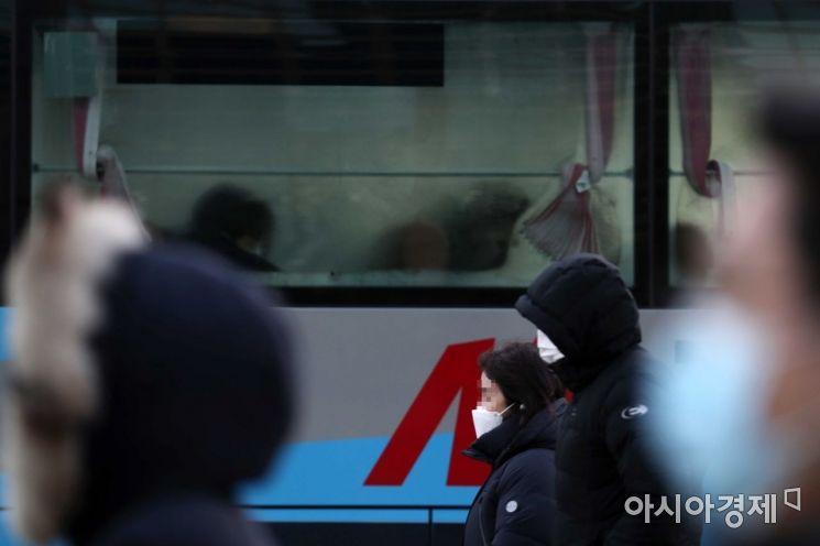 [포토]출근길 매서운 추위