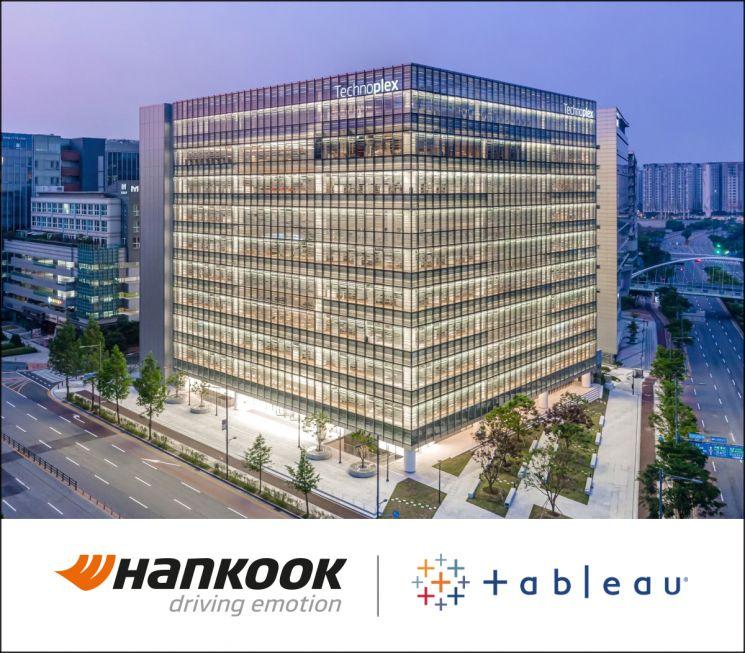 한국타이어, 데이터 분석 플랫폼 '태블로' 도입…디지털 전환 가속화
