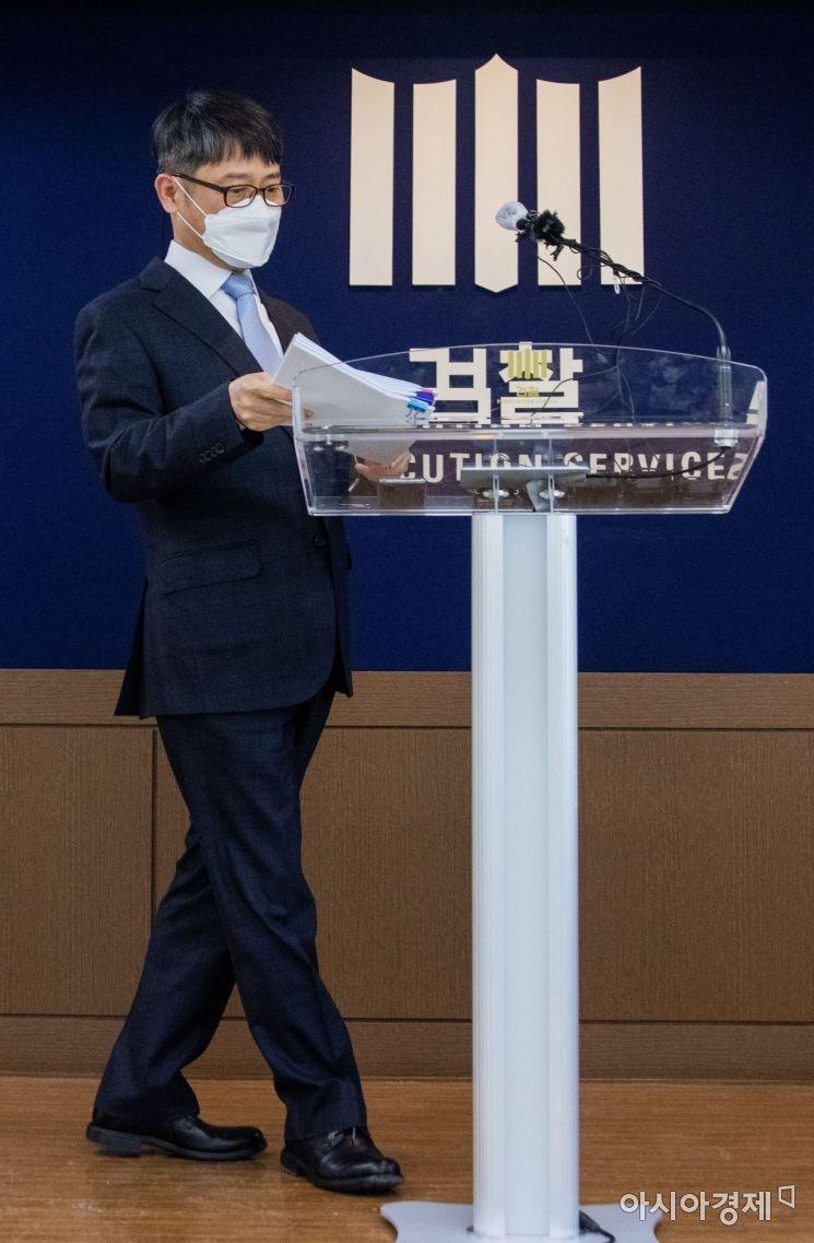 [포토]최종 브리핑 앞둔 임관혁 단장